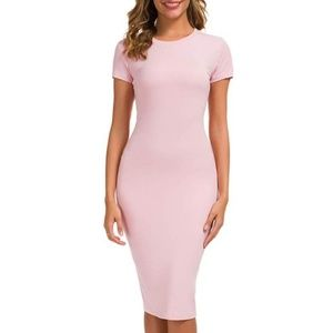 SAY WHAT? Bodycon Fitted Midi Dress